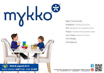 Mykko babyproducts flyer